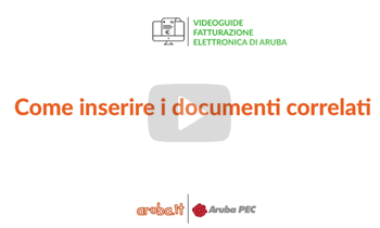 Come inserire i Documenti correlati