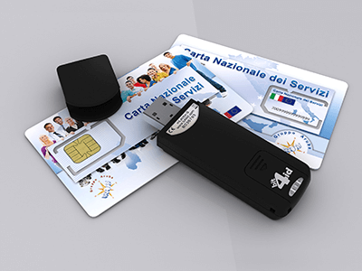 Firma digitale cns token for Equitalia spid